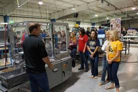 kids on a manufacturing tour