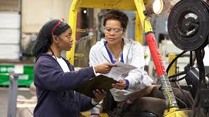 Women Working on the manufactuing floor