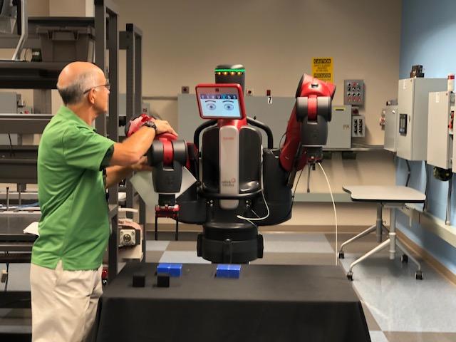 Co-Bot on Manufacturing Tour FSCJ